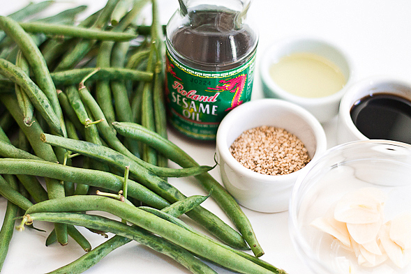 Quick Sesame Green Beans Recipe — Dishmaps
