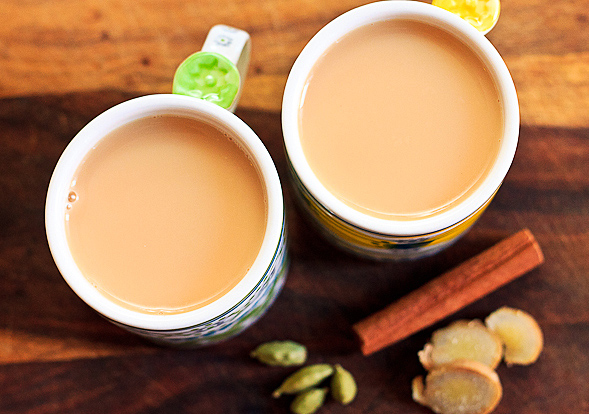 чай с молоком для похудения рецепт