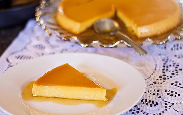 Leche Flan   Filipino Caramel Custard // wishfulchef.com