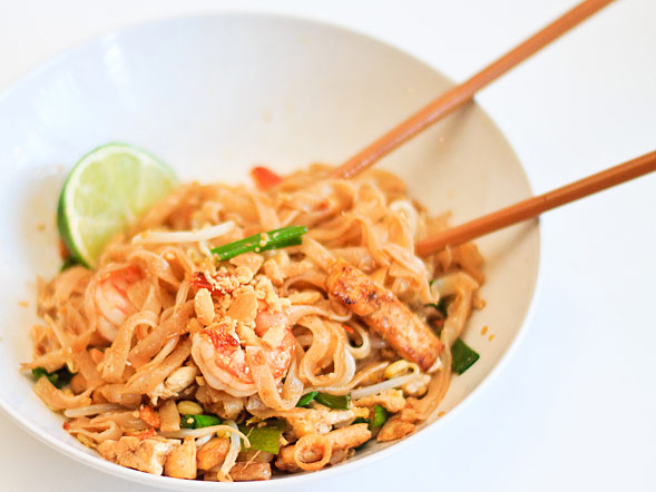 Pad Thai Noodles - With Step-by-Step Pictures - Wishful Chef