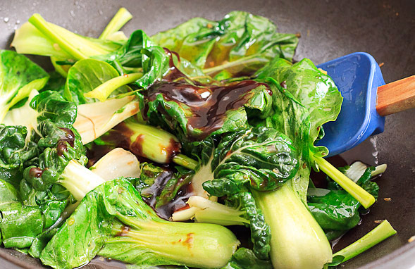 pictures of bok choy