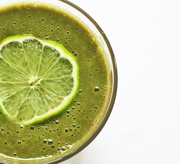 Swiss Chard Lime Smoothie