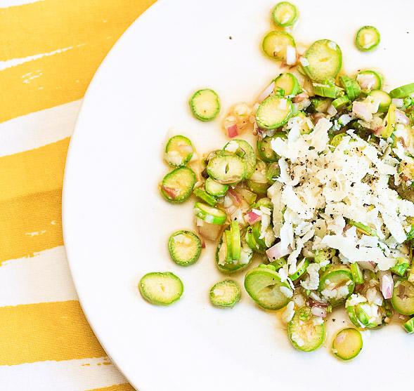 Asparagus Salad with Pecorino