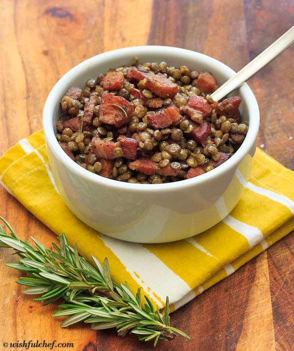 Lentils Pancetta Rosemary 3
