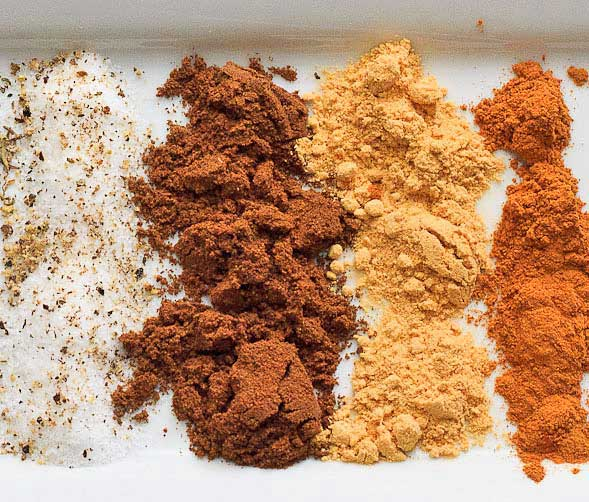 Moroccan Mushrooms spices