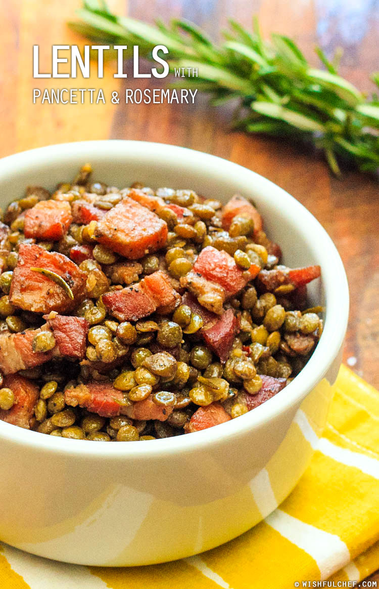 Lentils, lentils lentils (and a soup with tuscan kale and pancetta ...