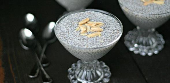 Triple Almond Chia Pudding {Paleo, Vegan, Gluten-Free}