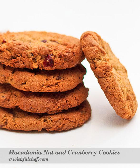 Macadamia Cranberry Cookies 3