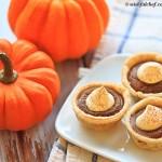 Healthy Mini Pumpkin Pies // wishfulchef.com
