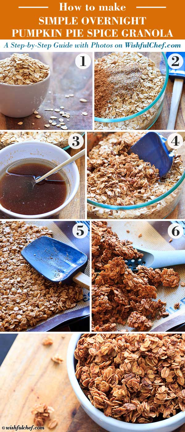 How to Make Overnight Pumpkin Pie Spice Granola (Step-by-Step)