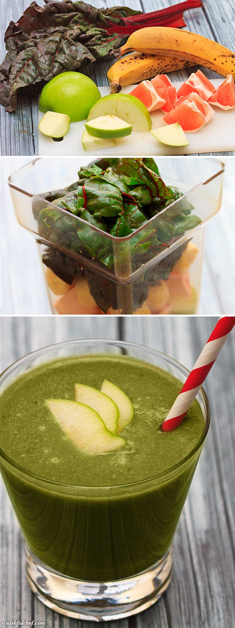 Swiss Chard Green Smoothie - The Perfect Cold Remedy