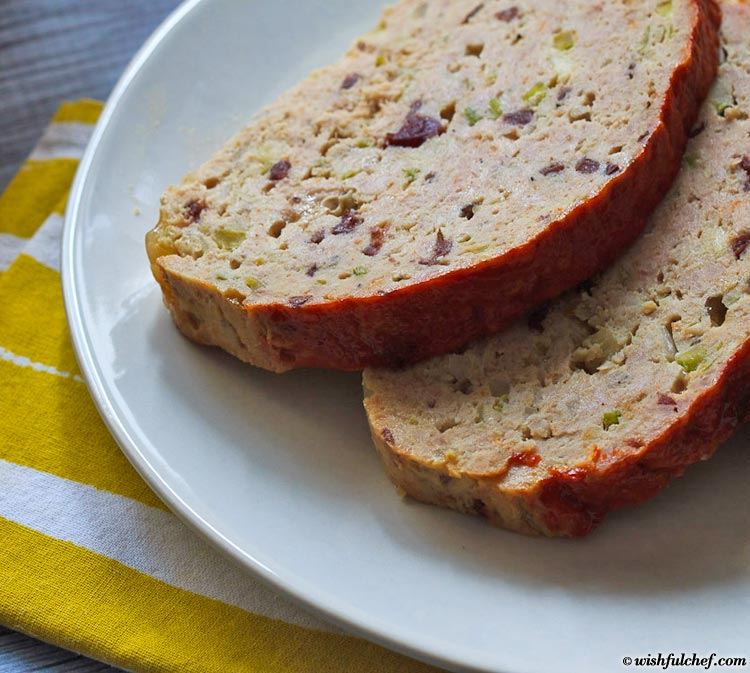 Thanksgiving Turkey Meatloaf