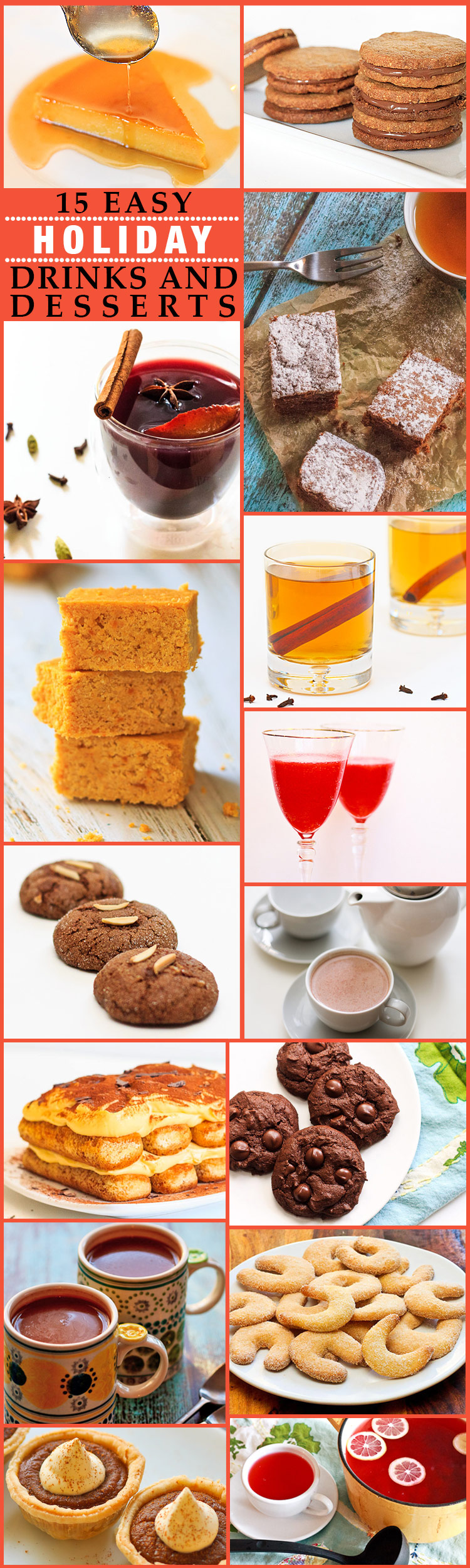 Holiday Drinks and Desserts