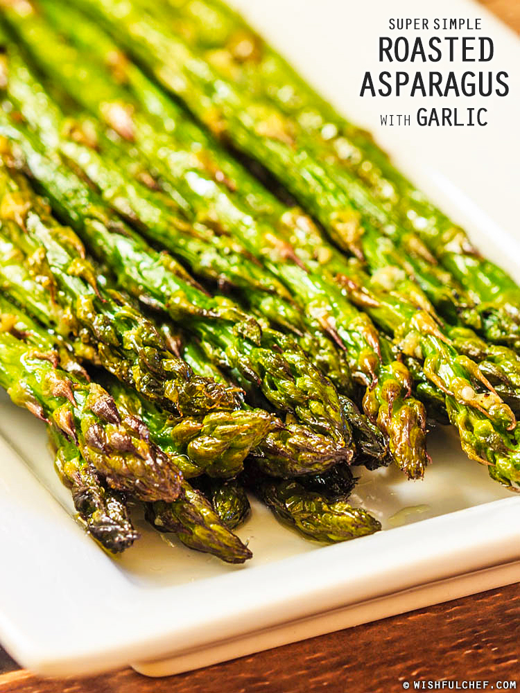 Basic Roasted Asparagus Recipe — Dishmaps
